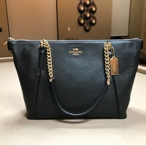 Coach Ava Chain Tote Shoulder Bag